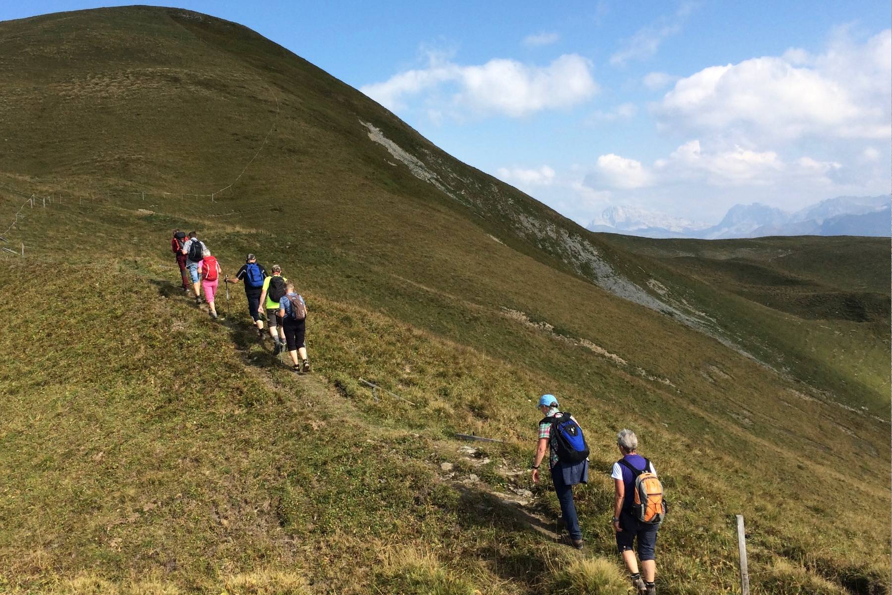 Hiking weeks with Hans Escher